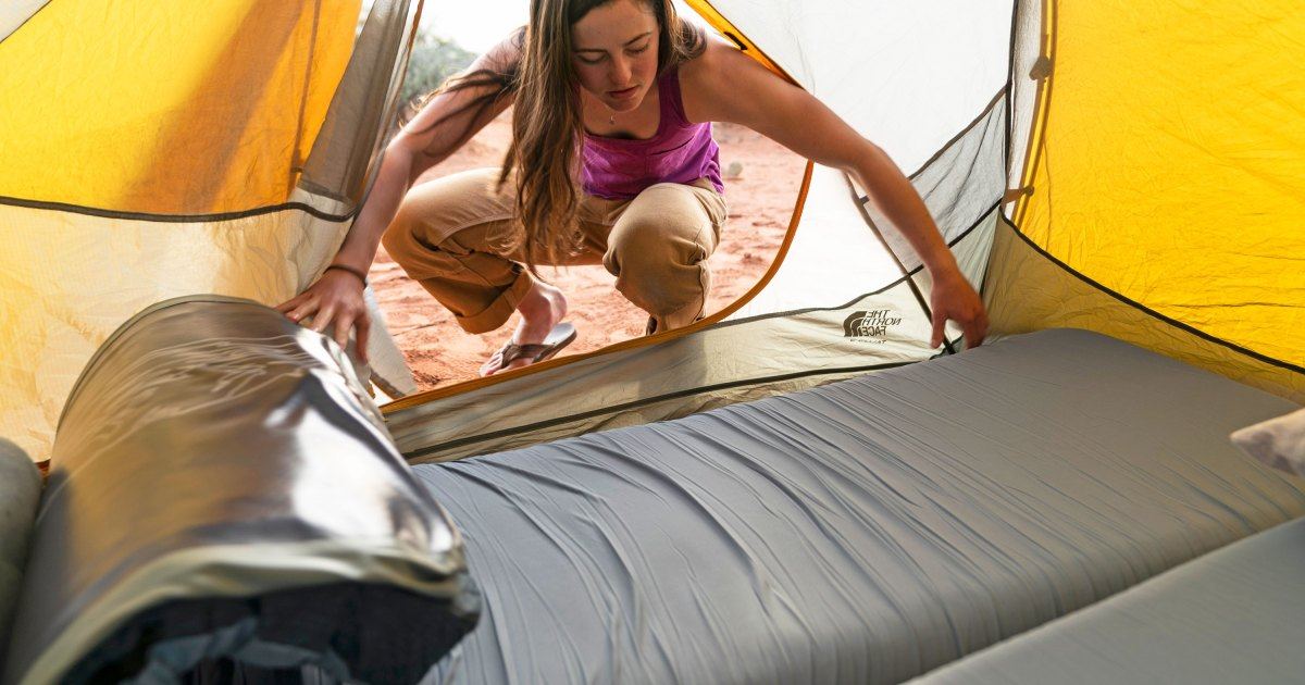 When a Camp Mattress Claims It's the Most Comfortable Ever—And It Is