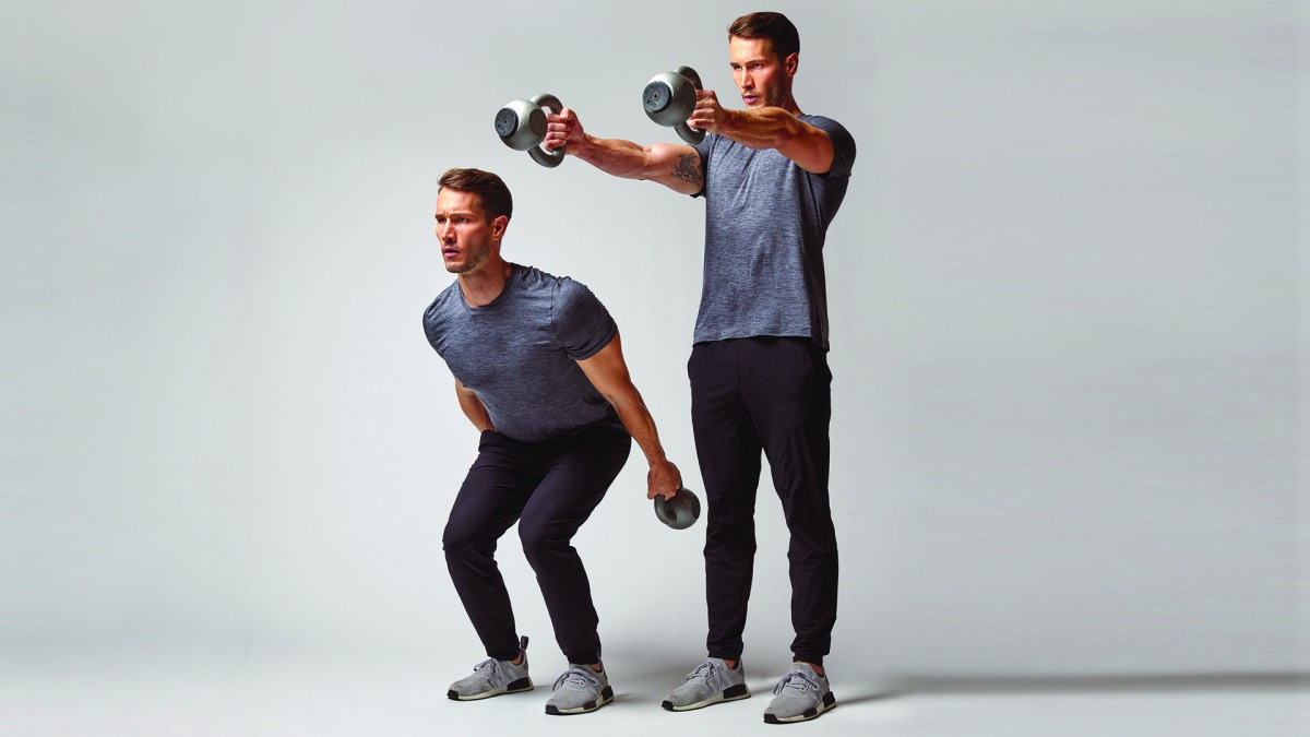 The Kettlebell Ski Swing Will Transform Your Core and Upper Body