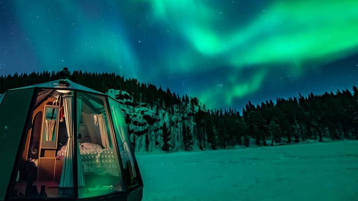 Here's a Look at the Northernmost Hotel in the World, a Pop-Up Camp in the North Pole