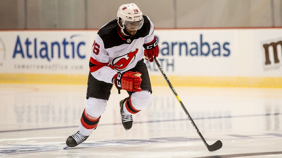 Devils star P.K. Subban / New Jersey Devils