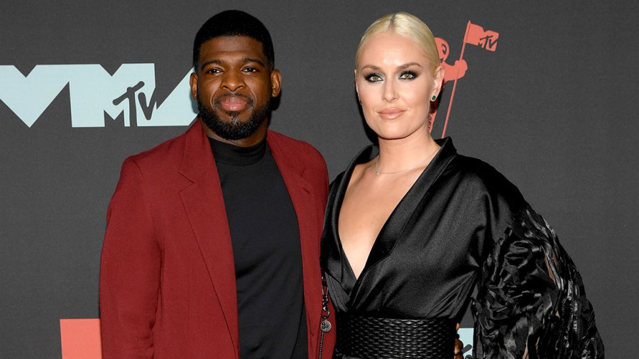 MTV Video Music Awards, Arrivals, Prudential Center, New Jersey, USA - 26 Aug 2019 PK Subban and Lindsey Vonn