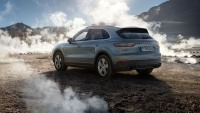 The Porsche Cayenne Turbo S E-Hybrid