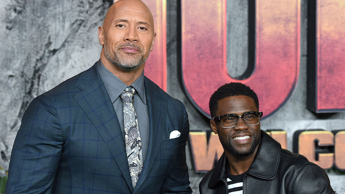 Dwayne Johnson, Bryan Cranston, and More Show Support for Kevin Hart's Recovery After Car Accident