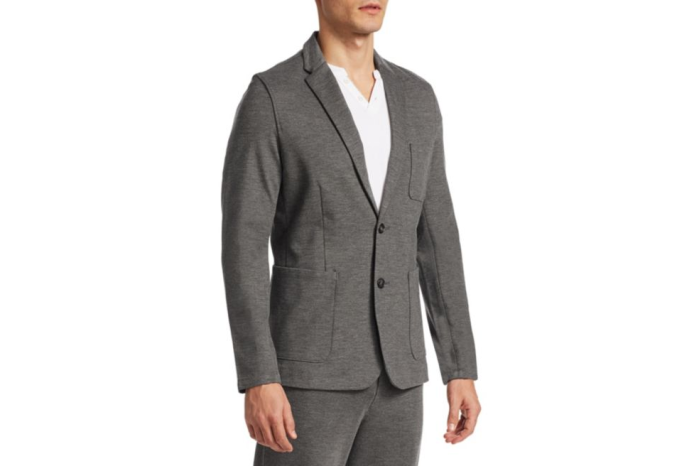 suit with sweats