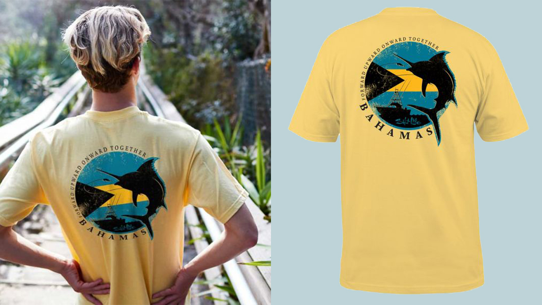 Salt Life Launched a New T-Shirt to Support Hurricane Dorian Relief Efforts in the Bahamas