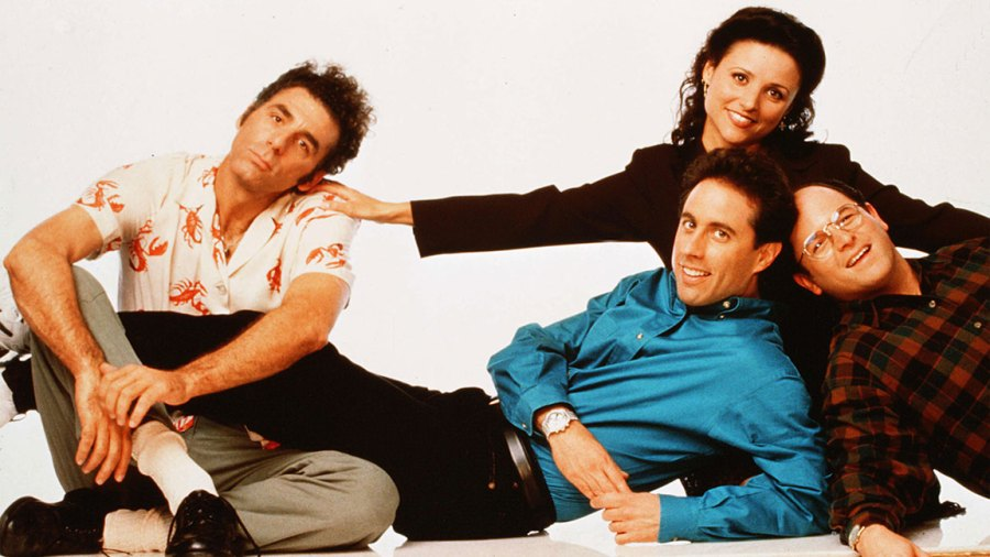 Seinfeld - 1990-1998 Michael Richards, Jerry Seinfeld, Julia Louis-Dreyfus, Jason Alexander