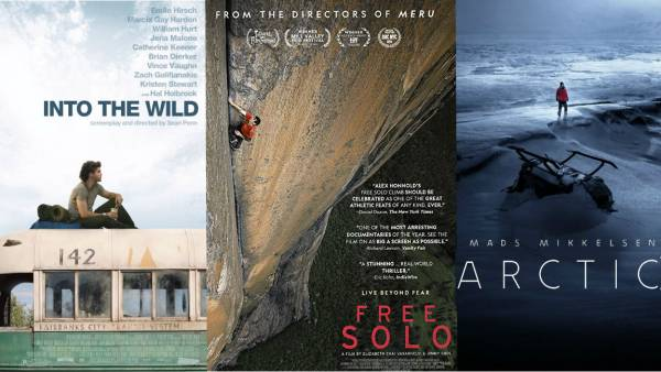 Free Solo / Into the Wild / Arctic, Paramount / Bleecker Street / National Geographic