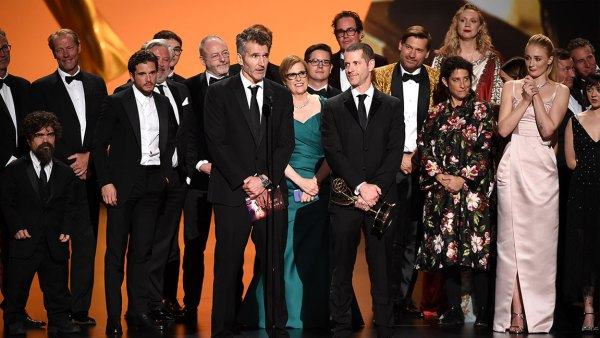 71st Annual Primetime Emmy Awards, Show, Microsoft Theatre, Los Angeles, USA - 22 Sep 2019 D. B. Weiss, David Benioff