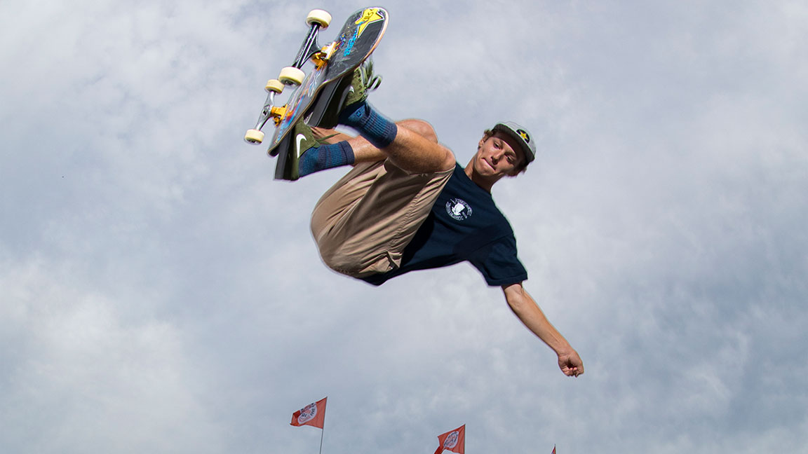 Skateboarder Tristan Rennie on the 2020 Olympics in Japan and Why He Loves Skateboarding in Brazil