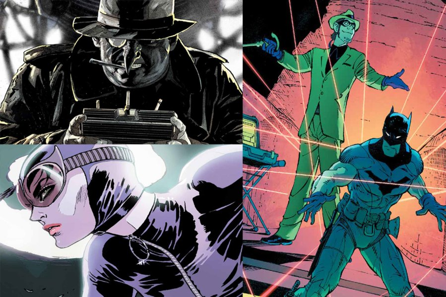 Villains, Riddler, Penguin, Catwoman - The Batman / Warner Bros. Movie / Courtesy of DC Comics / Batman - Everything To Know