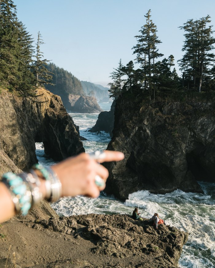 Dispatches: Two friends & a Dog Traveling the Oregon Coast in an Airstream Basecamp