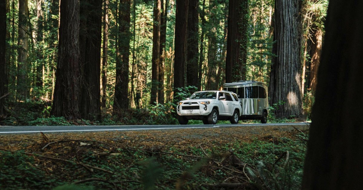 Traveling the Oregon Coast in an Airstream Basecamp