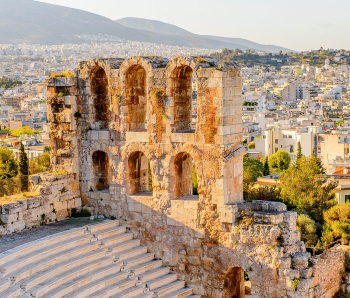 Amphitheater of the Acropolis of Athens