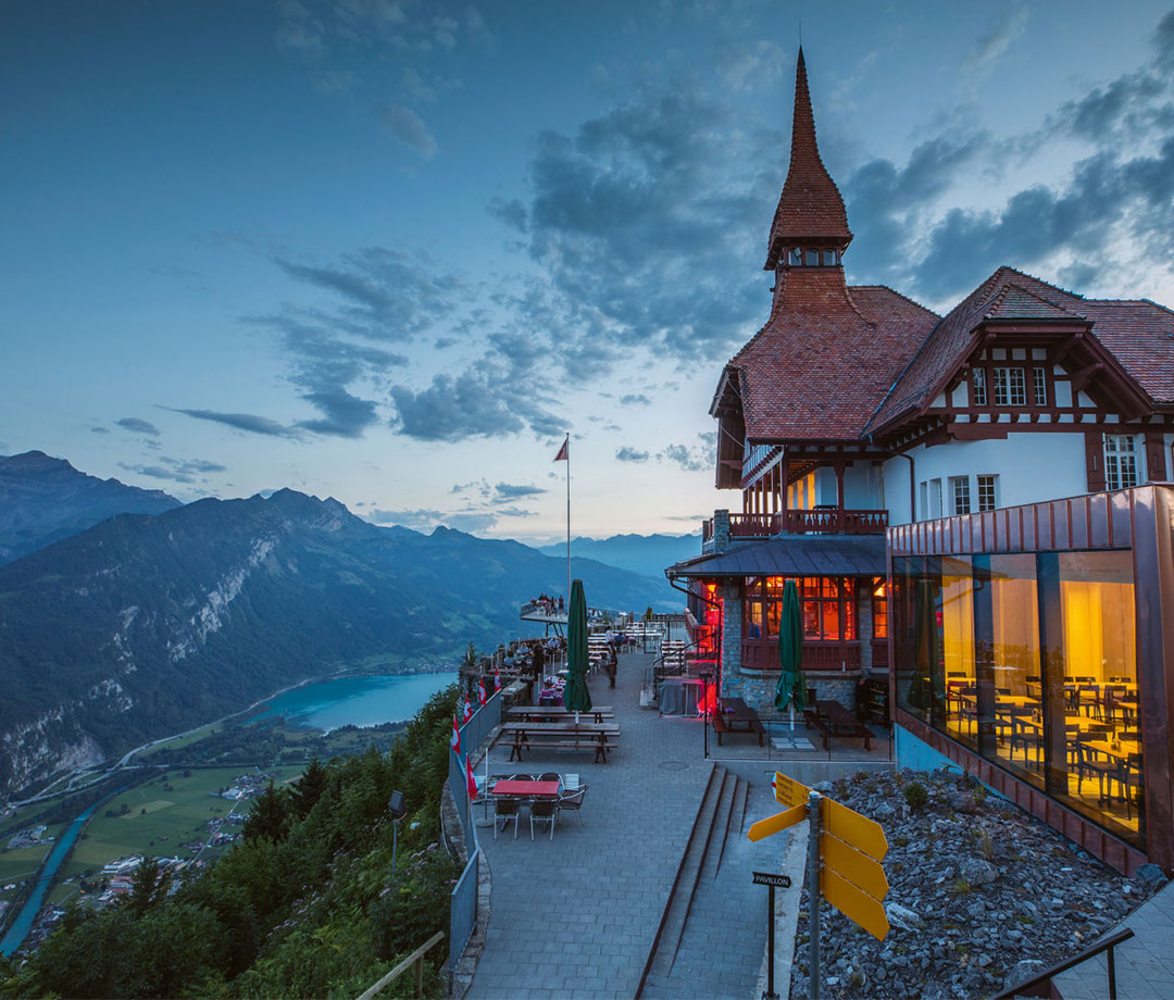 Harder Kulm Panorama Restaurant