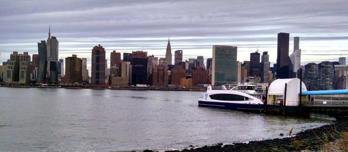 NYC Ferry on the East River