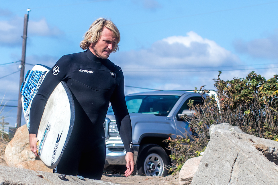 Ben Gravy just proved you don't need an ocean to surf.