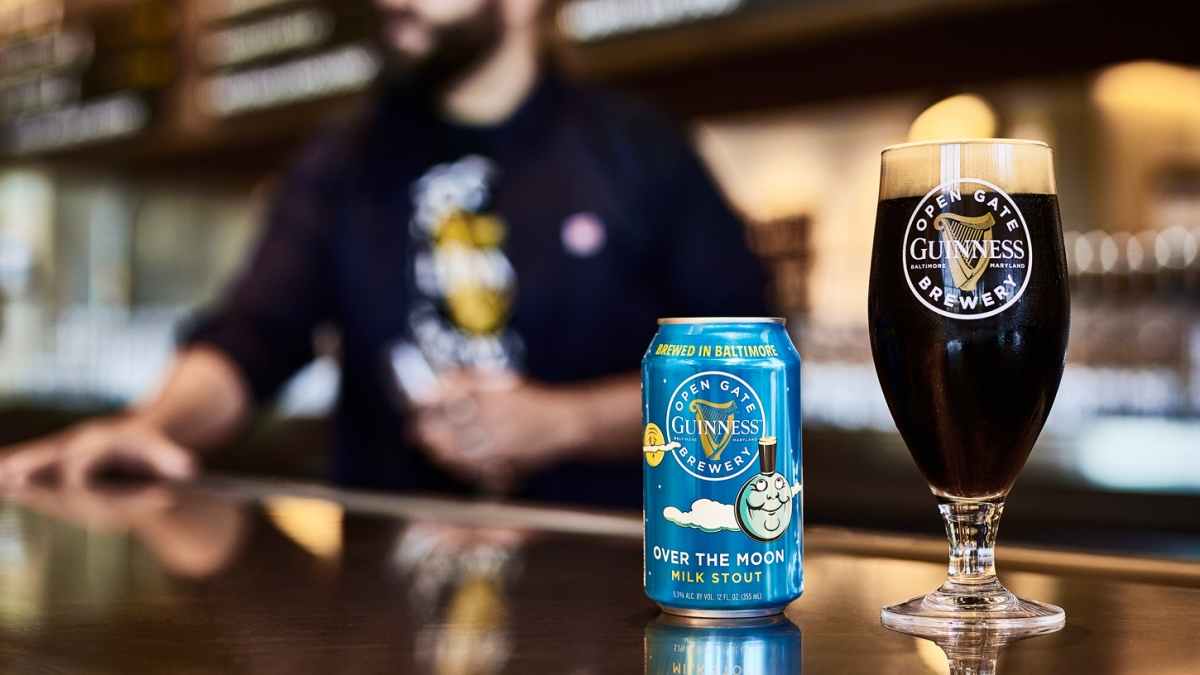 Guinness Just Released Its New Over The Moon Milk Stout. Here's Where You Can Find It
