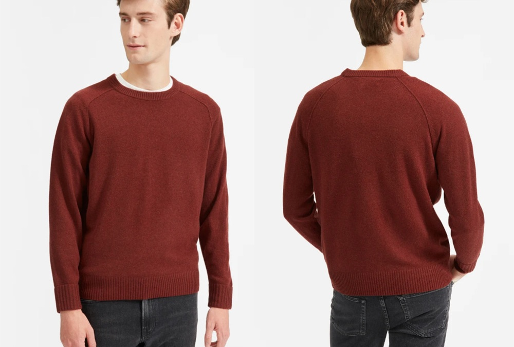 Help The Environment In Style With This Sweater From Everlane