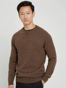 yak wool crewneck