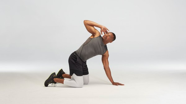 T-Spine rotation stretch