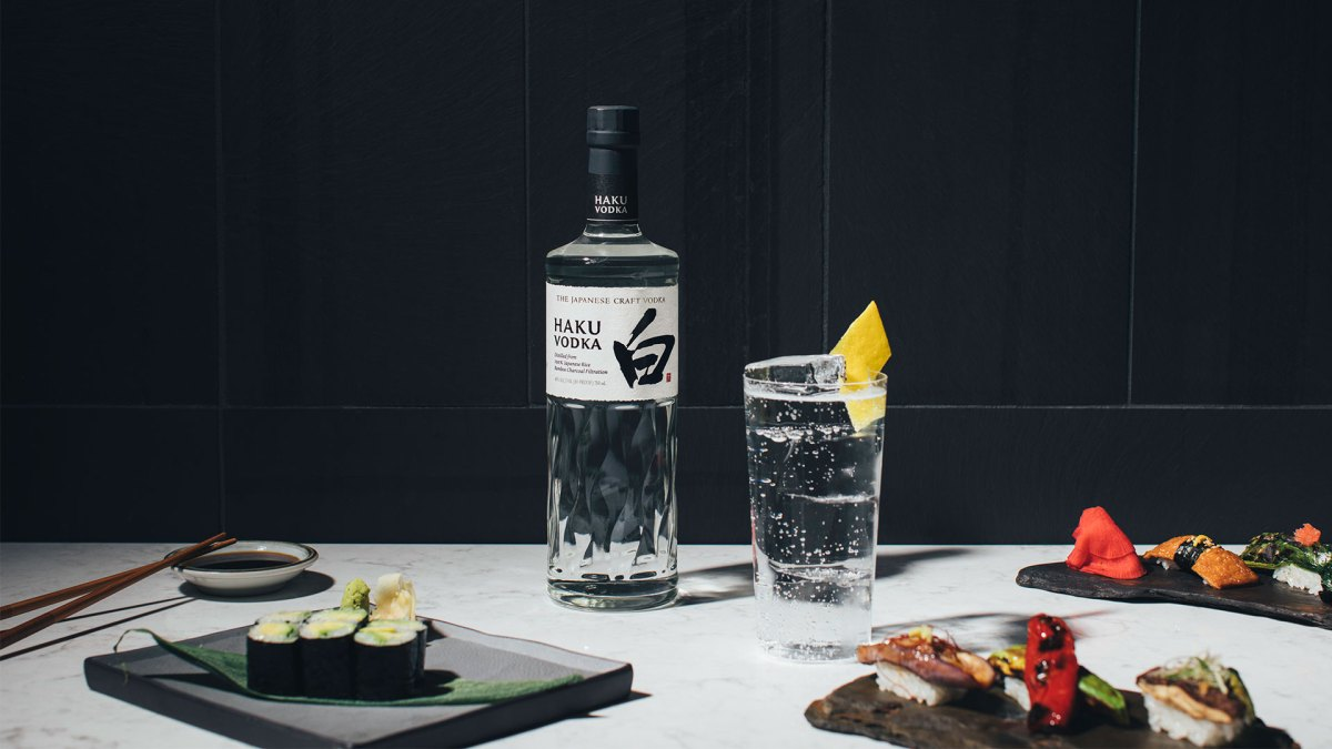 This New Japanese Vodka Is Made From 100% White Rice