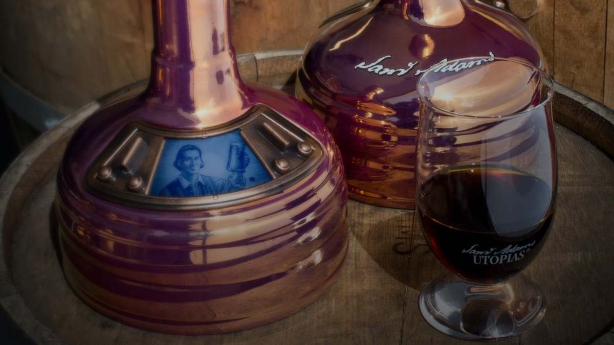 Here's Where You Can Get the 28% ABV Sam Adams Utopias Beer