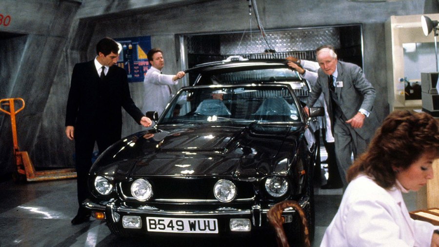 Film and Television The Living Daylights (James Bond), Timothy Dalton, Desmond Llewelyn 1987