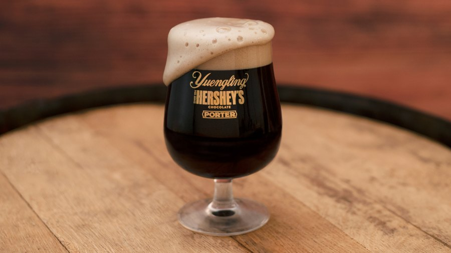 Hershey's collab with Yeungling, the Yuengling Hershey's Chocolate Porter