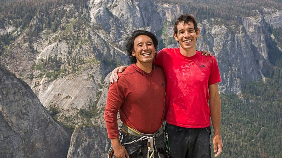 'Free Solo' Documentary - 2018 Jimmy Chin and Alex Honnold 2018