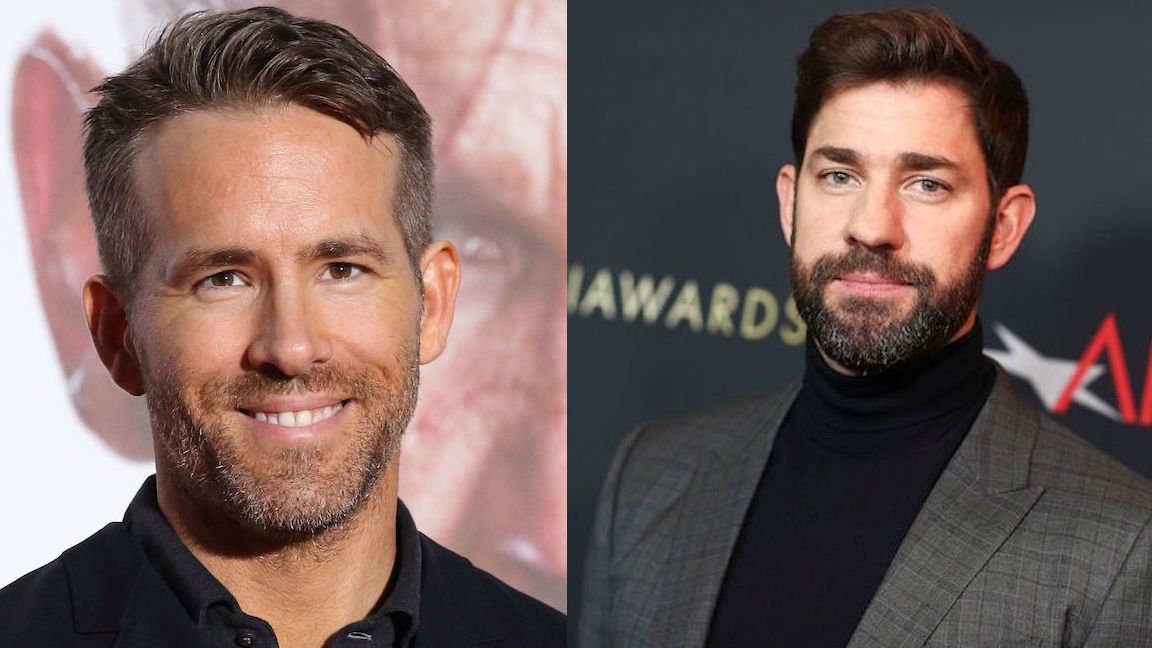 John Krasinski Might Direct and Star With Ryan Reynolds in the Comedy 'Imaginary Friends'