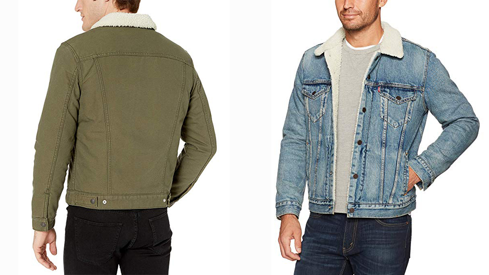 It S The Time Of The Season For Levi S Sherpa Trucker Jacket
