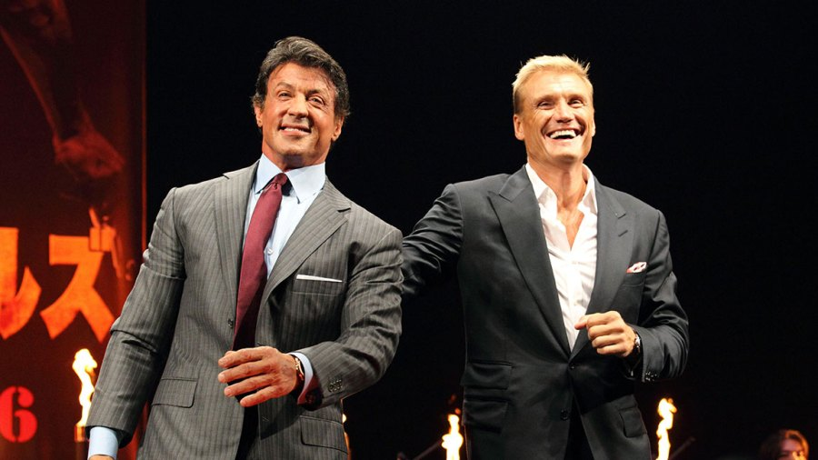 'The Expendables' Film Premiere, Tokyo, Japan - 26 Sep 2010 Sylvester Stallone and Dolph Lundgren 26 Sep 2010