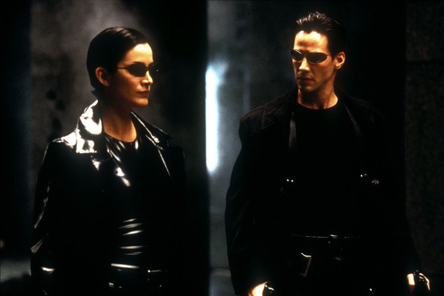 The Matrix - 1999 Carrie-Anne Moss, Keanu Reeves 1999