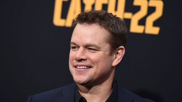 "LA Premiere of ""Catch-22"", Los Angeles, USA - 07 May 2019 Matt Damon arrives at the Los Angeles premiere of ""Catch-22"" at TCL Chinese Theatre on Tue 7 May 2019"