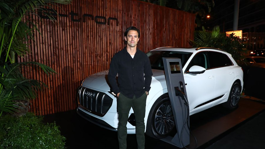 Audi Celebrates the 71st Emmys Description: LOS ANGELES, CALIFORNIA - SEPTEMBER 19: Milo Ventimiglia attends the Audi pre-Emmy celebration at Sunset Tower in Hollywood on Thursday, September 19, 2019. (Photo by Joe Scarnici/Getty Images for Audi)