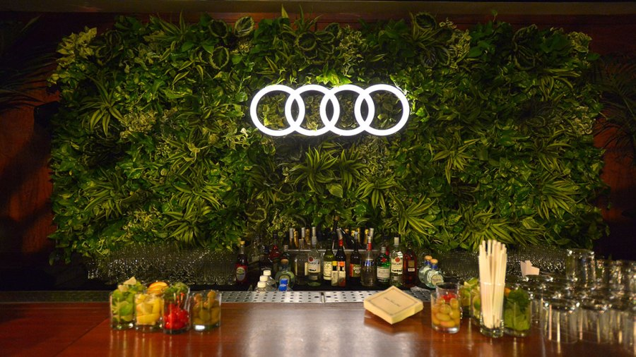 Audi Celebrates the 71st Emmys Description: LOS ANGELES, CALIFORNIA - SEPTEMBER 19: Signage is seen at the Audi pre-Emmy celebration at Sunset Tower in Hollywood on Thursday, September 19, 2019. (Photo by Charley Gallay/Getty Images for Audi)