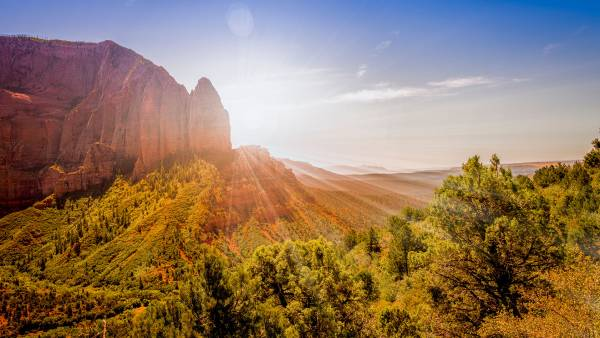 Zion National Park, National Parks fall
