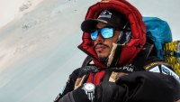 Nims Purja during Project Possible Climb