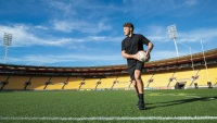 Rugby star Beauden Barrett