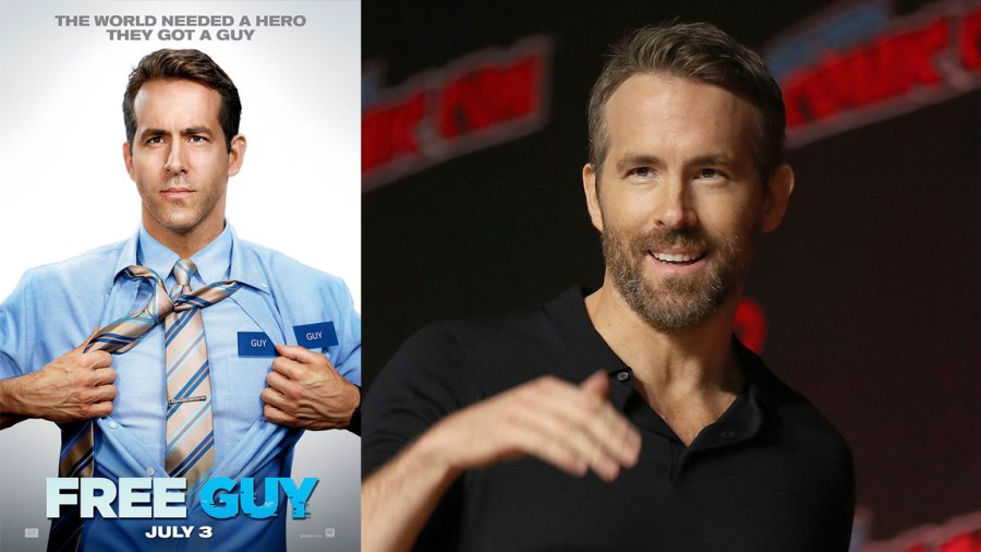 """2019 Comic Con, New York, USA - 03 Oct 2019 Ryan Reynolds walks on stage during the 20th Century Fox Panel: An Insider's Look at """"The King's Man"""" and """"Free Guy"""" on the first day of New York Comic Con, in New York 3 Oct 2019"""