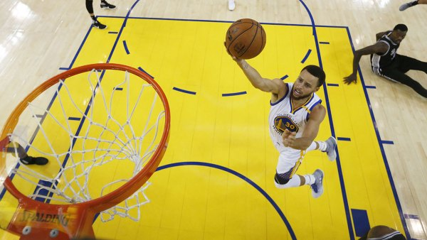 San Antonio Spurs at Golden State Warriors, Oakland, USA - 16 May 2017 Stephen Curry 16 May 2017