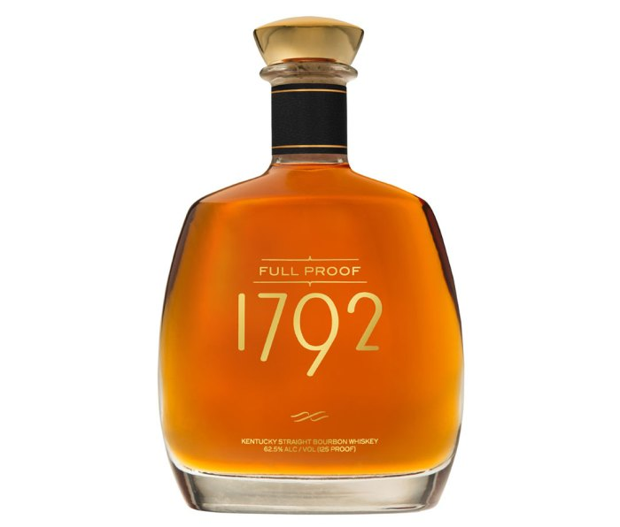 Full Proof Bourbon from 1792, Jim Murray's best whisky in the world for 2019