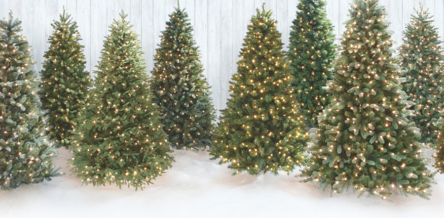 NOMA 7-Foot Pre-lit Christmas Tree with Lights