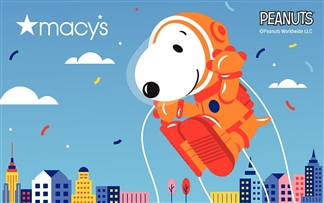 Snoopy Gift Card To Macy's