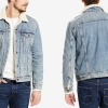 Levi's Sherpa Denim Trucker Jacket