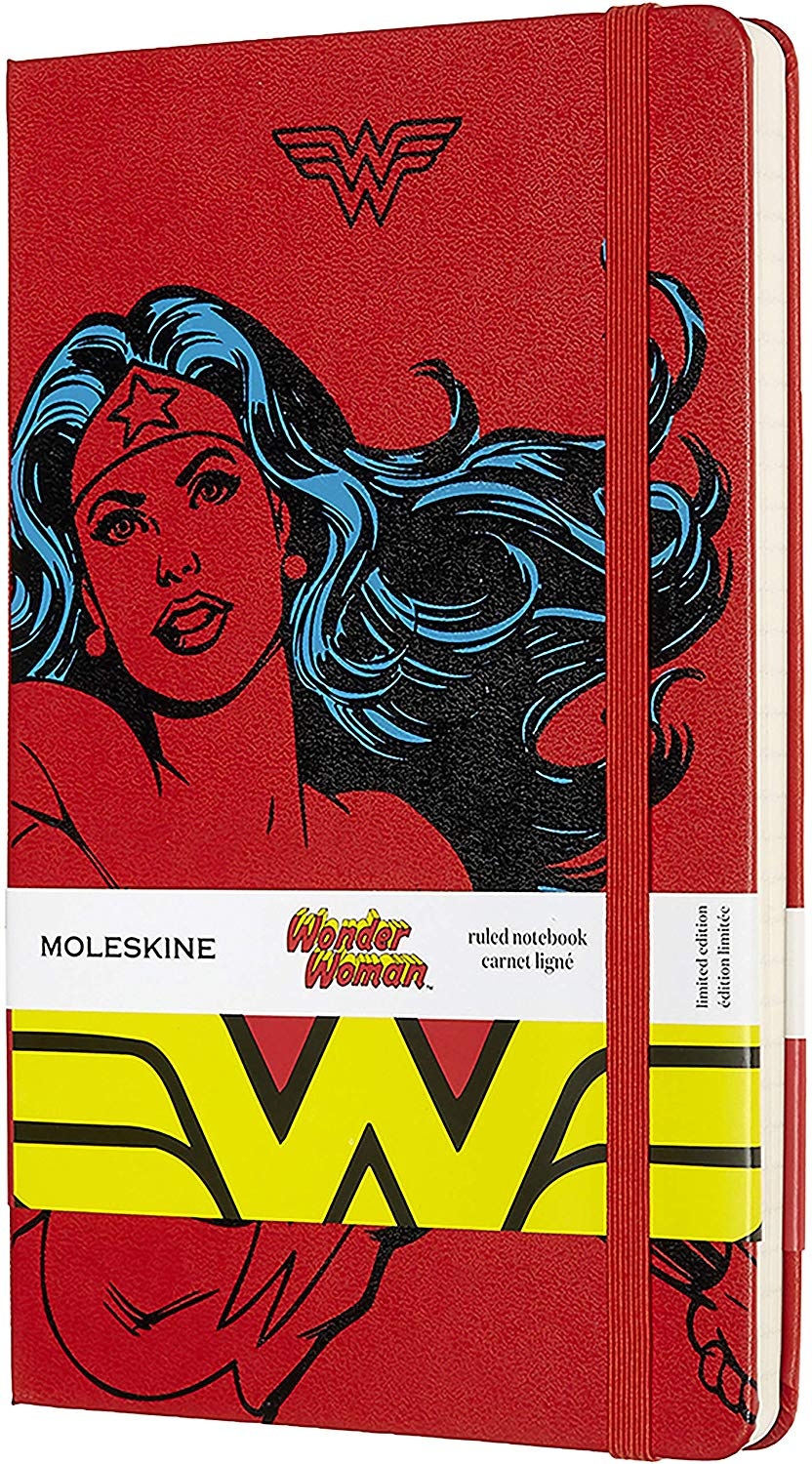 Moleskine Limited Edition Wonder Woman Notebook