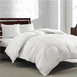 Royal Luxe White Goose Feather & Down 240-Thread Count Comforter