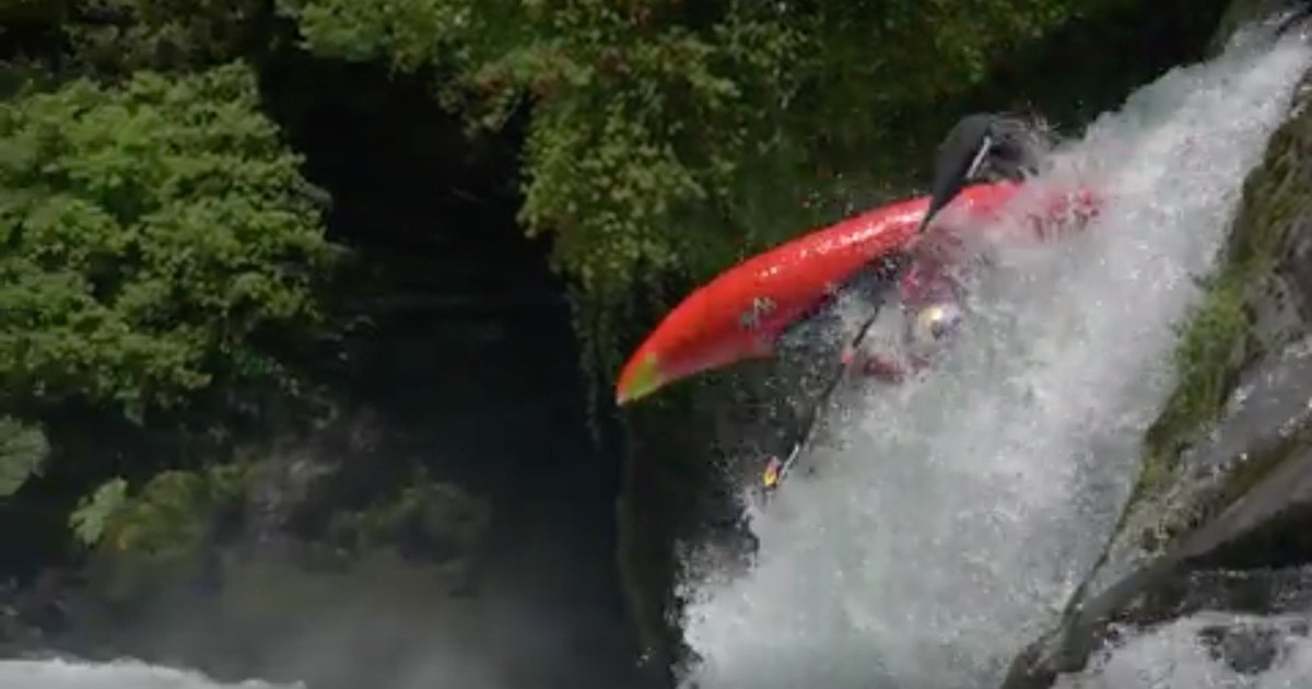 How Kayaking's Hardest Charger Took a Freestyle Skiing Trick to the River
