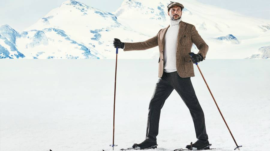 Keegan-Michael Key in 2019-20 Winter Fashion Preview. Grooming by Suzy Diaz. Set design by Ward Robinson/wooden-ladder.com. Production by Patty Bilotti/PBNYpro.com.