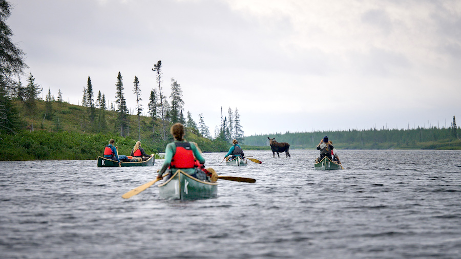 Documenting Wild: An All-Women's Throwback Canoe Expedition in Northern Canada